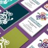 Corporate business card design and corporate branding
